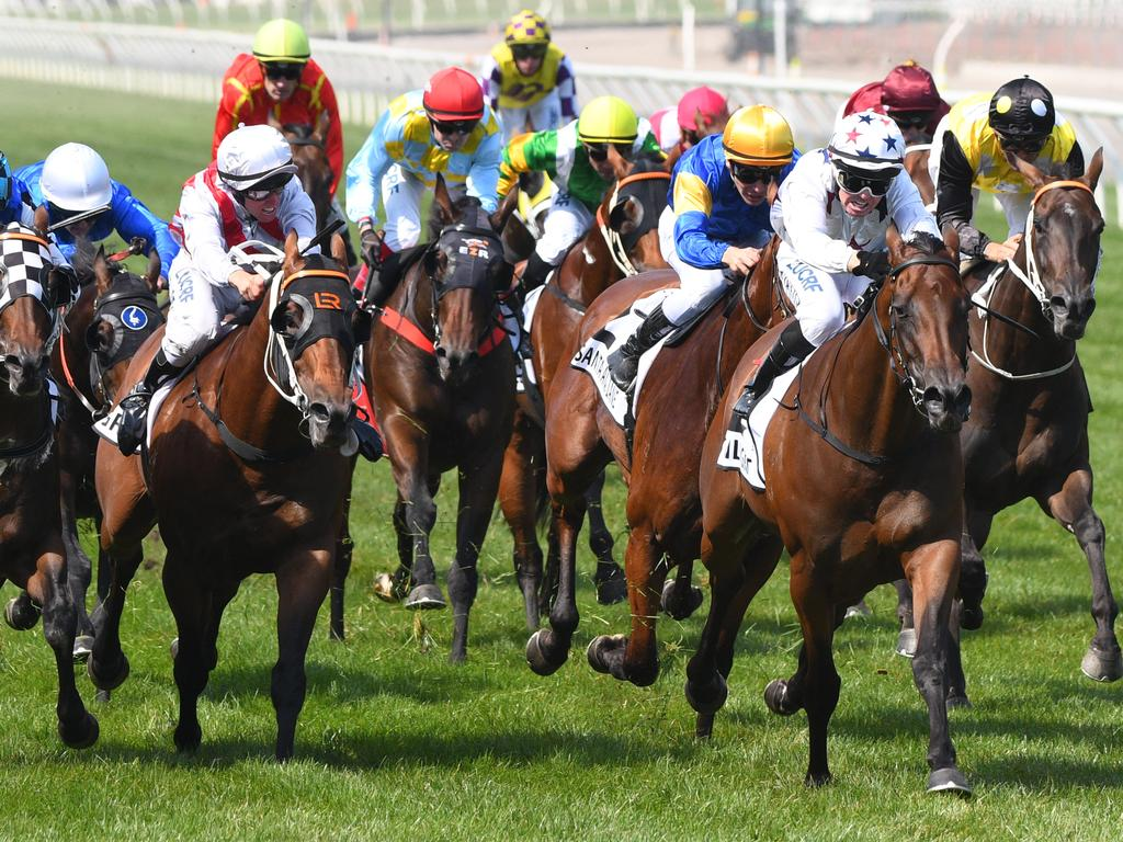Sunlight proves too strong in the Group 1 Newmarket Handicap.