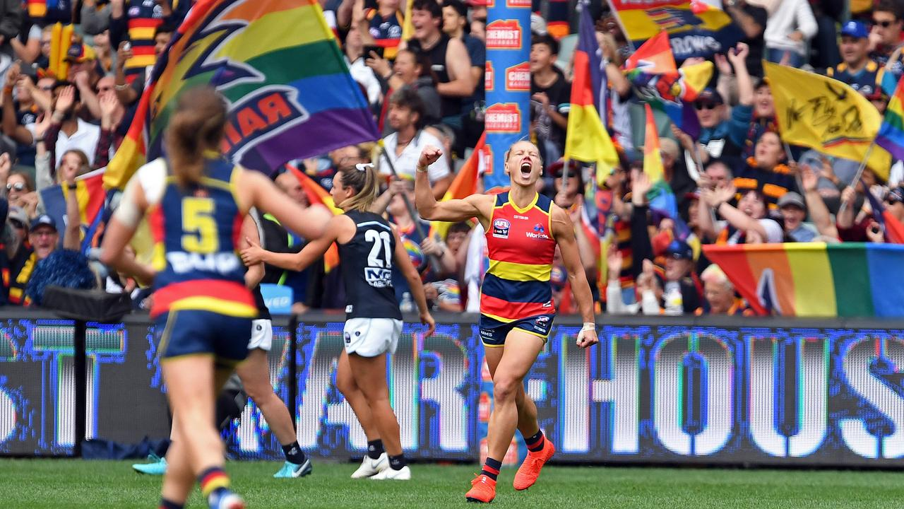 The Crows are premiers once again. Picture: Tom Huntley
