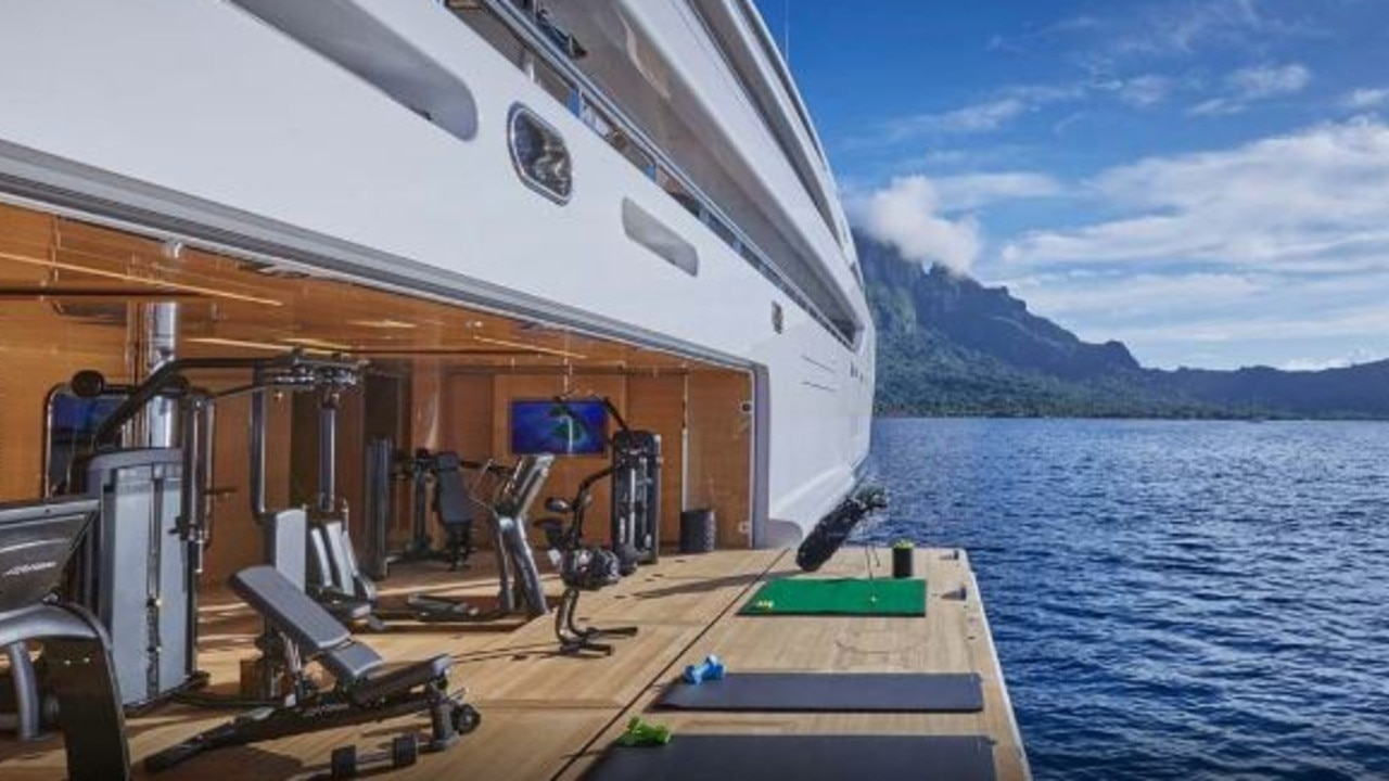 You can workout with a view. Source: Burgess.