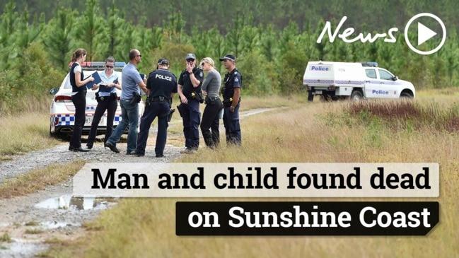 Man and child found dead on Sunshine Coast