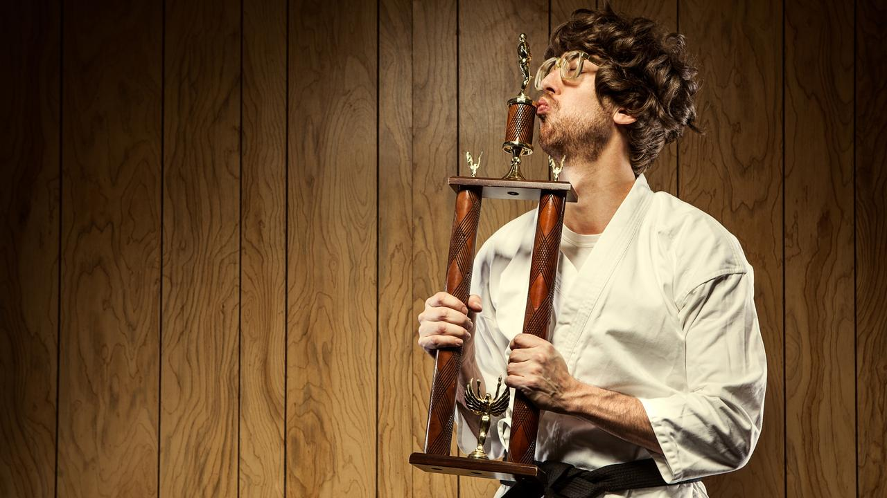 I'm looking for work in marketing – should I tell the hiring manager about my karate trophies? Picture: iStock