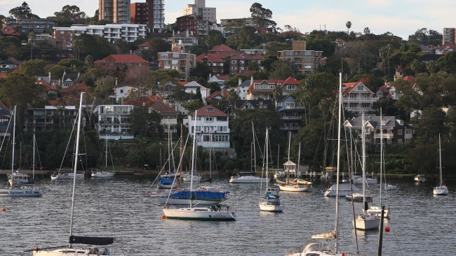 Australia's property value has continued to soar over the last 12 months with the annual national dwelling value growing by 13.5 per cent. Photo: Lisa Maree Williams/Getty Images