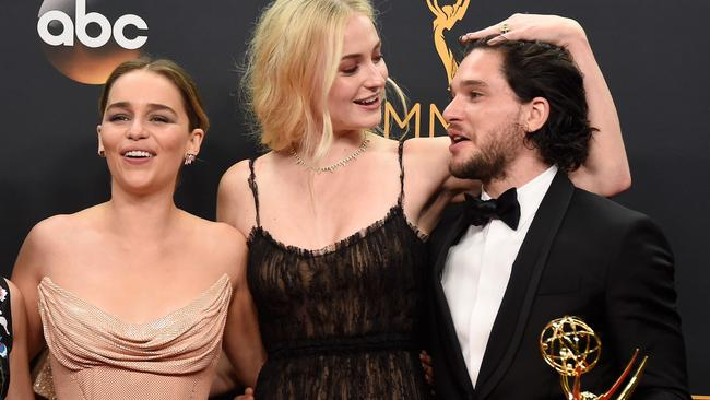 Sophie Turner has finally come out on Insta and shown the world who her new boyfriend is (PS: it's not Kit Harington). Picture: Frazer Harrison/Getty Images