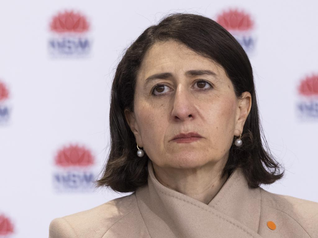 Premier Gladys Berejiklian announced on Tuesday NSW must administer 6 million new Covid-19 vaccinations if greater Sydney's lockdown was to be eased by August 28. Picture: Brook Mitchell/Getty Images.