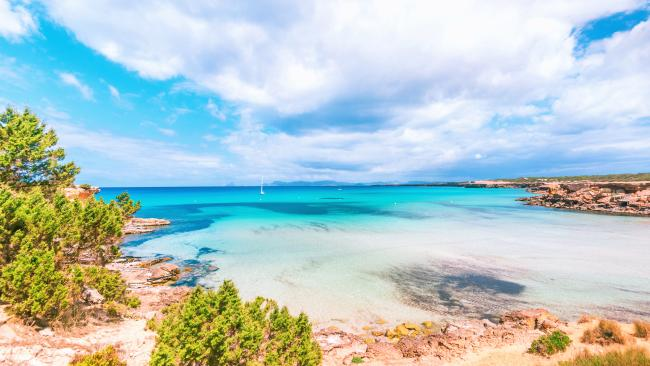 11/20Cala Saona, Formentera, Spain 140 metres, 282 pictures per metre Cala Saona just sounds sexy and it delivers with crystalline waves, myriad options for sundowners at around 9pm and Europeans who have mastered the art of wearing very little.