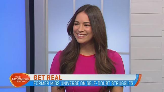 Former Miss Universe Australia Monika Radulovic talks reveals negative self-talk struggle