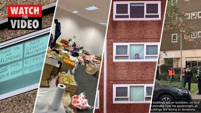 Melbourne Towers: what it's like inside the housing commission towers