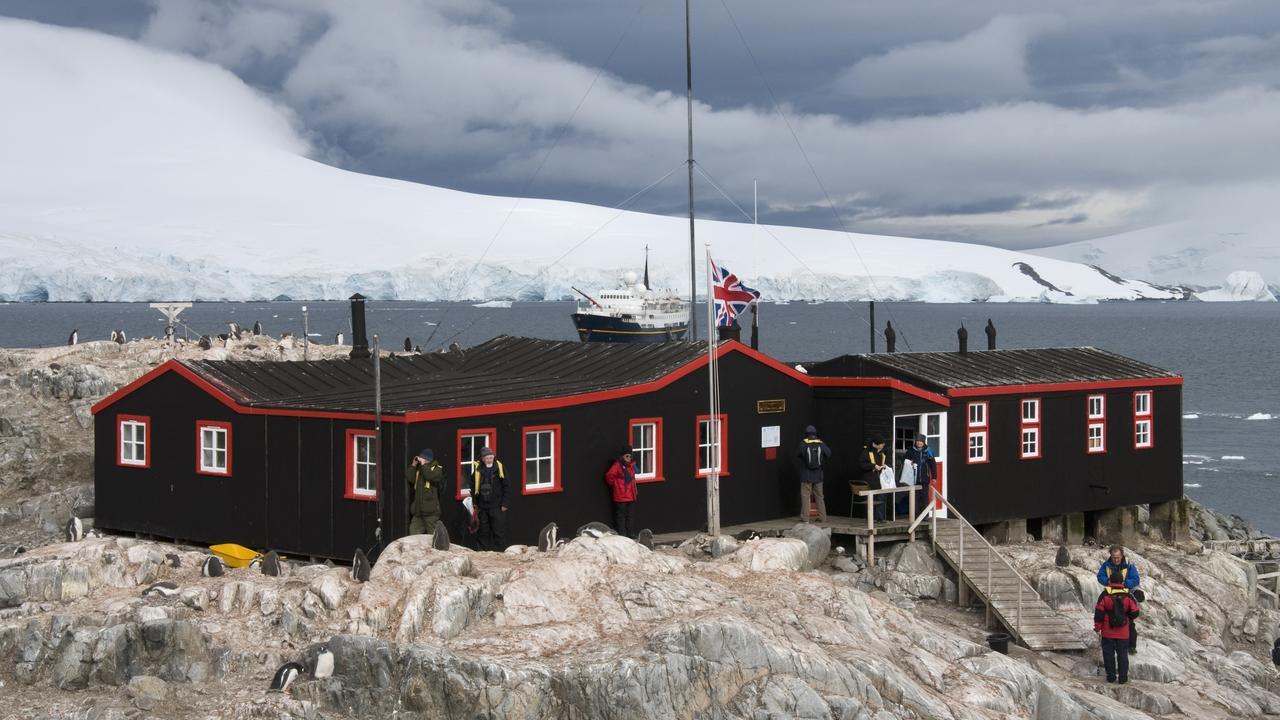 The post office at Port Lockroy, Antarctic Peninsula, Antarctica