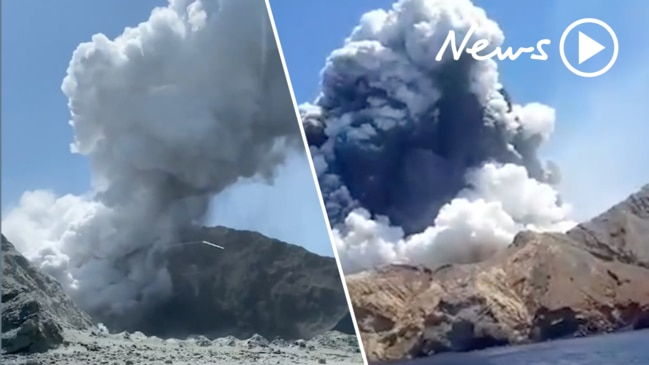Multiple injuries after White Island volcano eruption