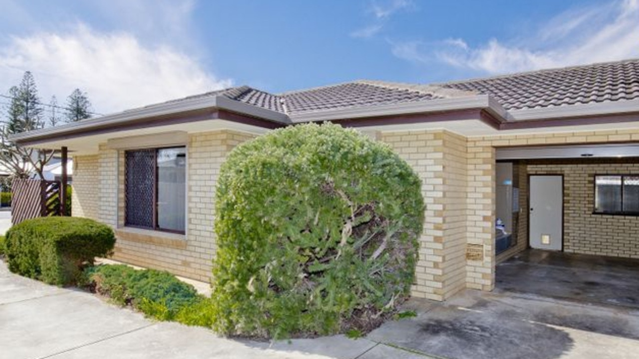 The Henley Beach unit at 1/11 Crewe St sold in September 2019 for $425,000. Pic: realestate.com.au