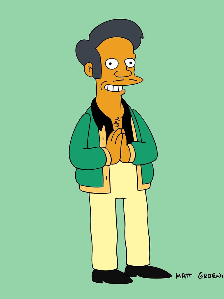 Apu has been sidelined until a new voice actor is cast. Picture: Supplied