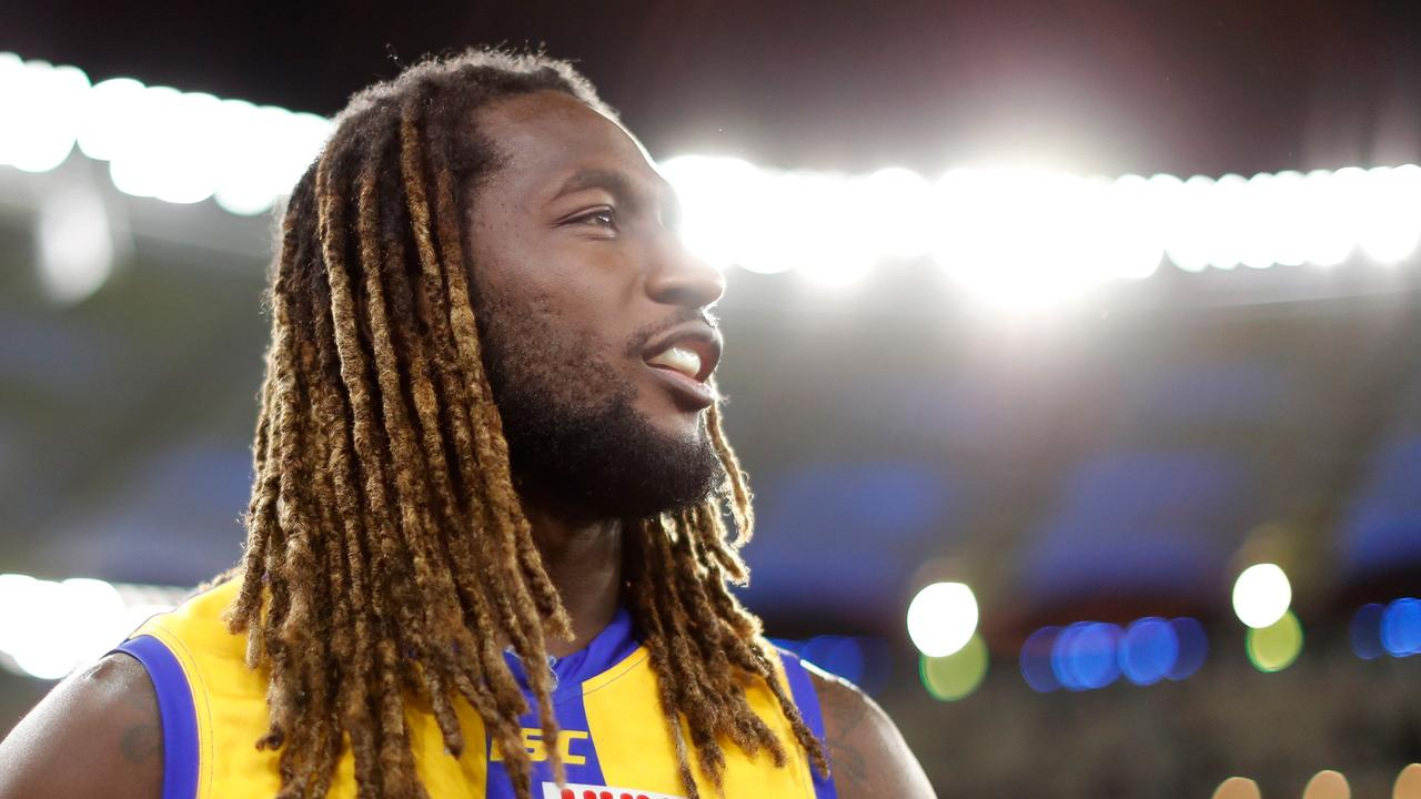 Will Nic Nat be suspended for his reaction? Photo: Michael Willson/AFL Photos via Getty Images.