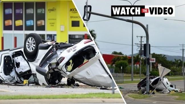 Four children killed in Townsville car crash
