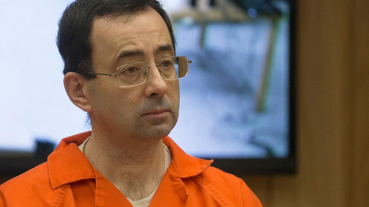 Larry Nassar was given a life sentence. (Photo by Rena Laverty/AFP)