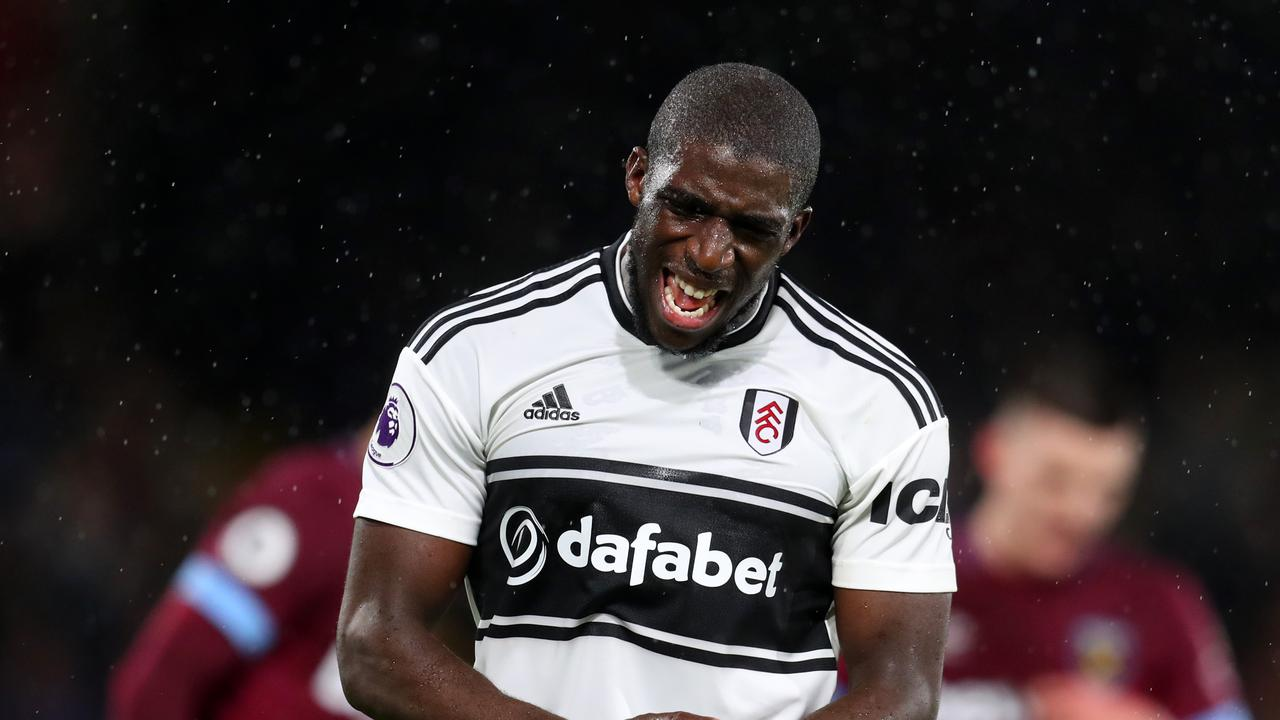 Aboubakar Kamara of Fulham has been banned indefinitely after being arrested at the club's training ground