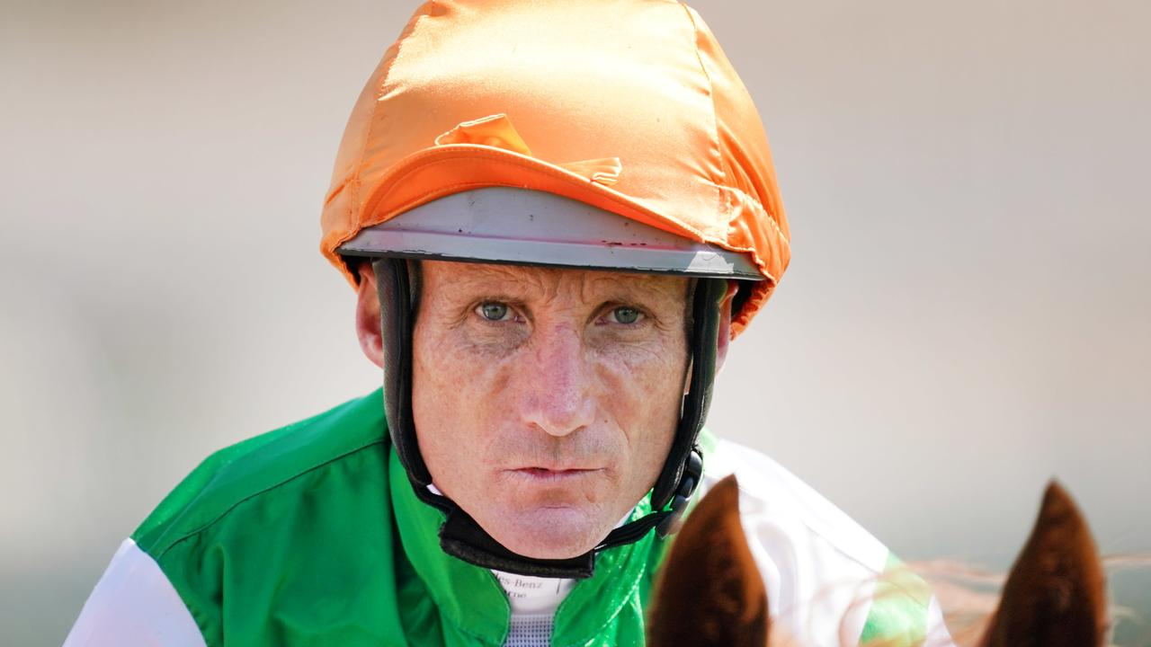 Jockey Damien Oliver has a strong book of five rides at Friday's Geelong meeting. Picture: AAP.