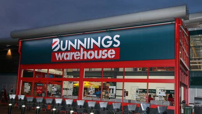 Bunnings first UK store in St Albans. Picture: Mega for news.com.au