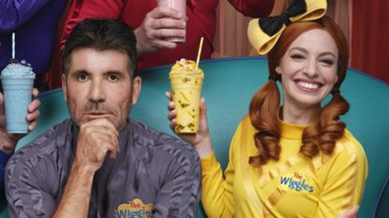A surprised face joins the Wiggles