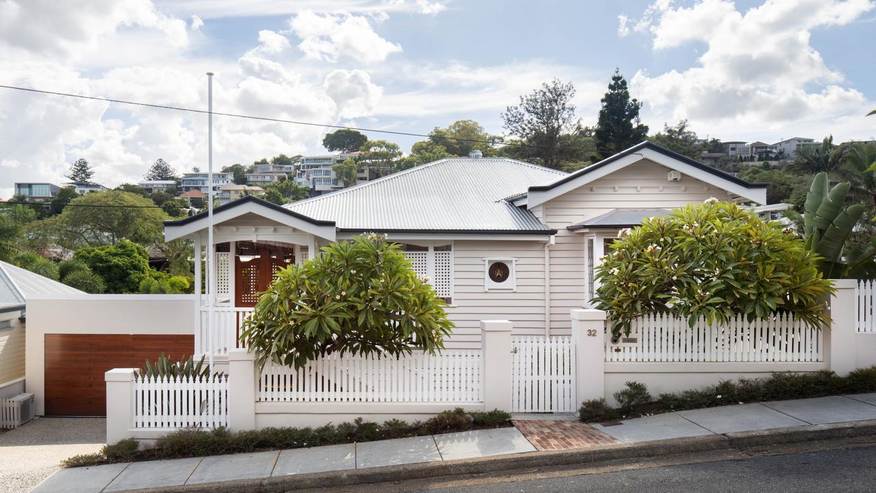 The front of the house at 32 Joynt St, Hamilton. Picture supplied by Place Estate Agents.