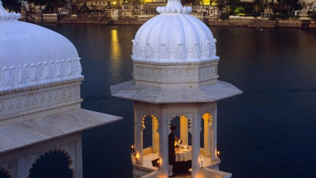 16/20The movie: Octopussy The hotel: The Taj Lake Palace in Udaipur India was a harem/fortress in this Roger Moore outing but in reality the 18th Century structure is once a lifetime destination with 65 luxe rooms and 18 breathtaking suites.