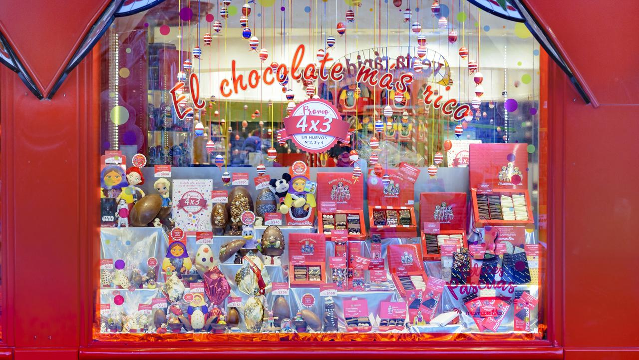 The city of Bariloche is known as Argentina's chocolate capital.