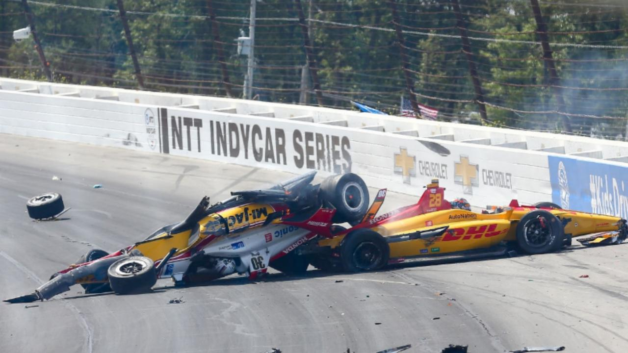 Robert Wickens questions IndyCar's 'toxic relationship' with Pocono after another terrifying accident