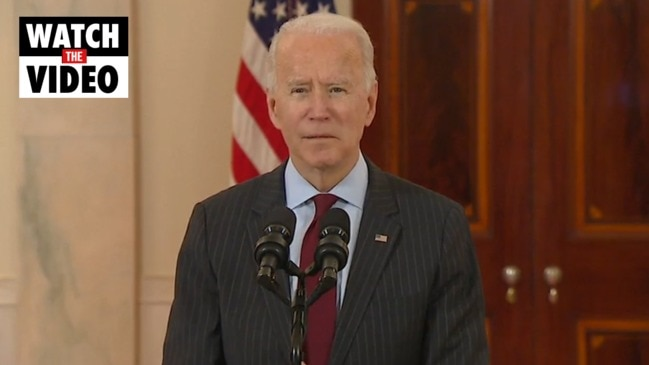 President Biden commemorates 500,000 US lives lost to COVID-19