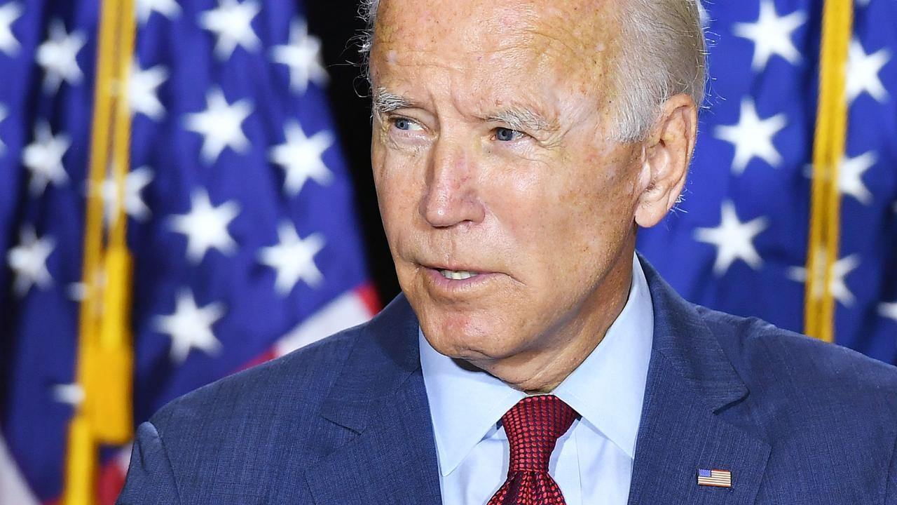 Democratic presidential nominee Joe Biden. Picture: Mandel Ngan/AFP