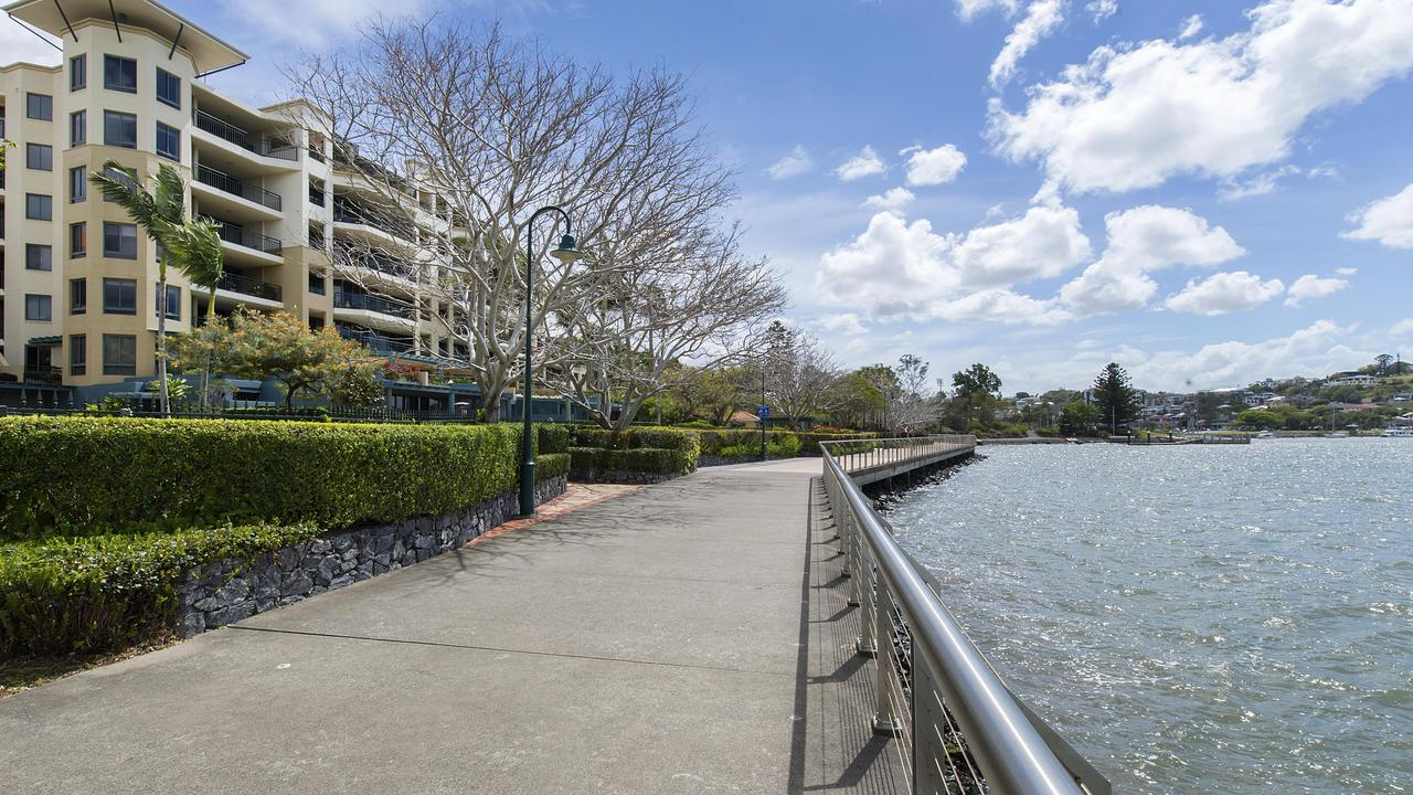 An apartment in this building at 57 Newstead Tce, Newstead, has sold for $4.3m.