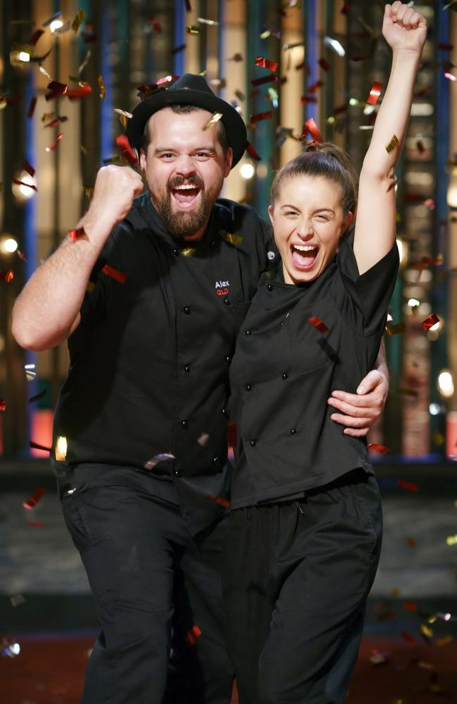 MKR champions Alex and Emily. Picture: Supplied/Seven