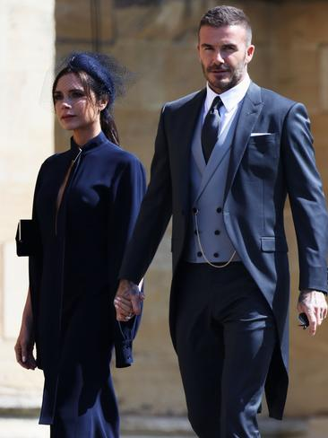 The Beckhams are close friends with Prince Harry. Picture: Getty Images