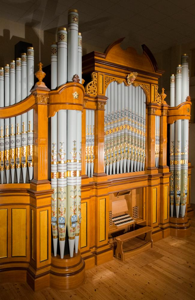 The Hill & Son Grand Organ, Barossa Regional Gallery. Picture: Supplied