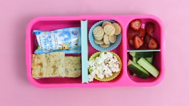 Mum's sandwich-free lunch box ideas
