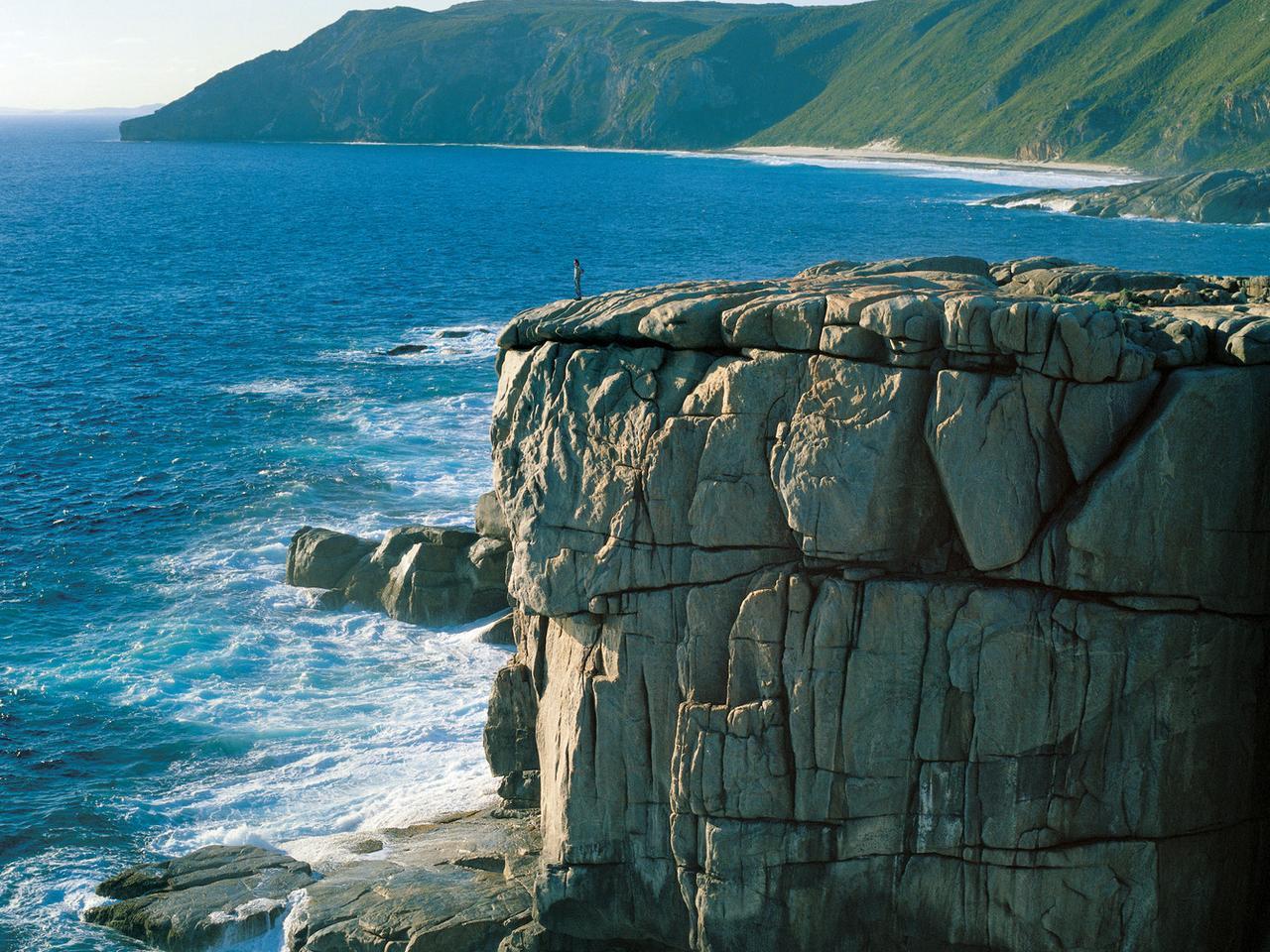 The Gap near Albany in Western Australia. For Escape travel. Supplied. Please credit Tourism Western Australia.