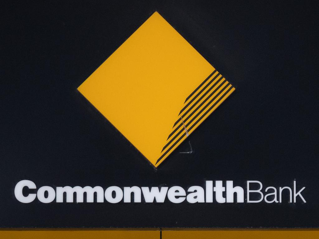 SYDNEY, AUSTRALIA - NewsWire Photos December 11, 2020:  Commonwealth Bank Signage at a branch in the Sydney CBD. Picture: NCA NewsWire / James Gourley