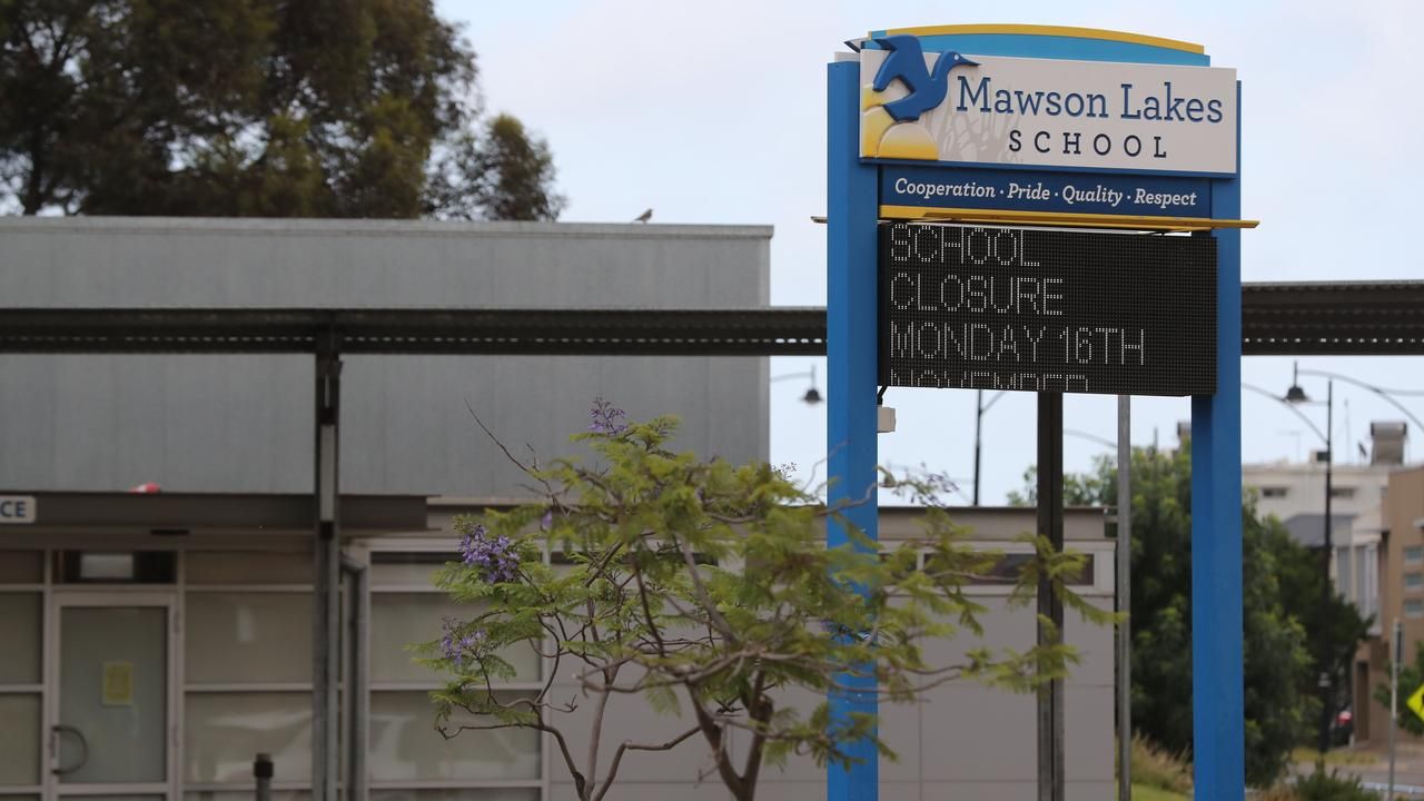 Mawson Lakes Primary School and the accompanying preschool have been closed. Picture: Tait Schmaal.