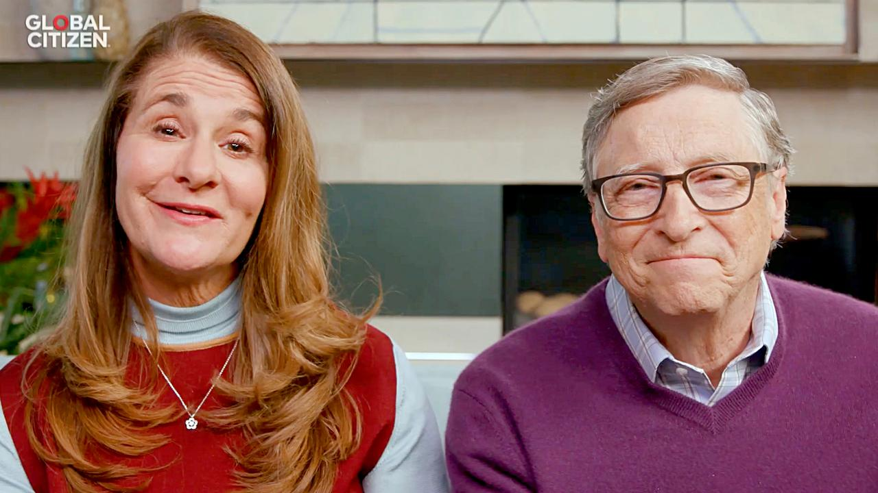 Melinda and Bill Gates last year. Picture: Getty Images for Global Citizen