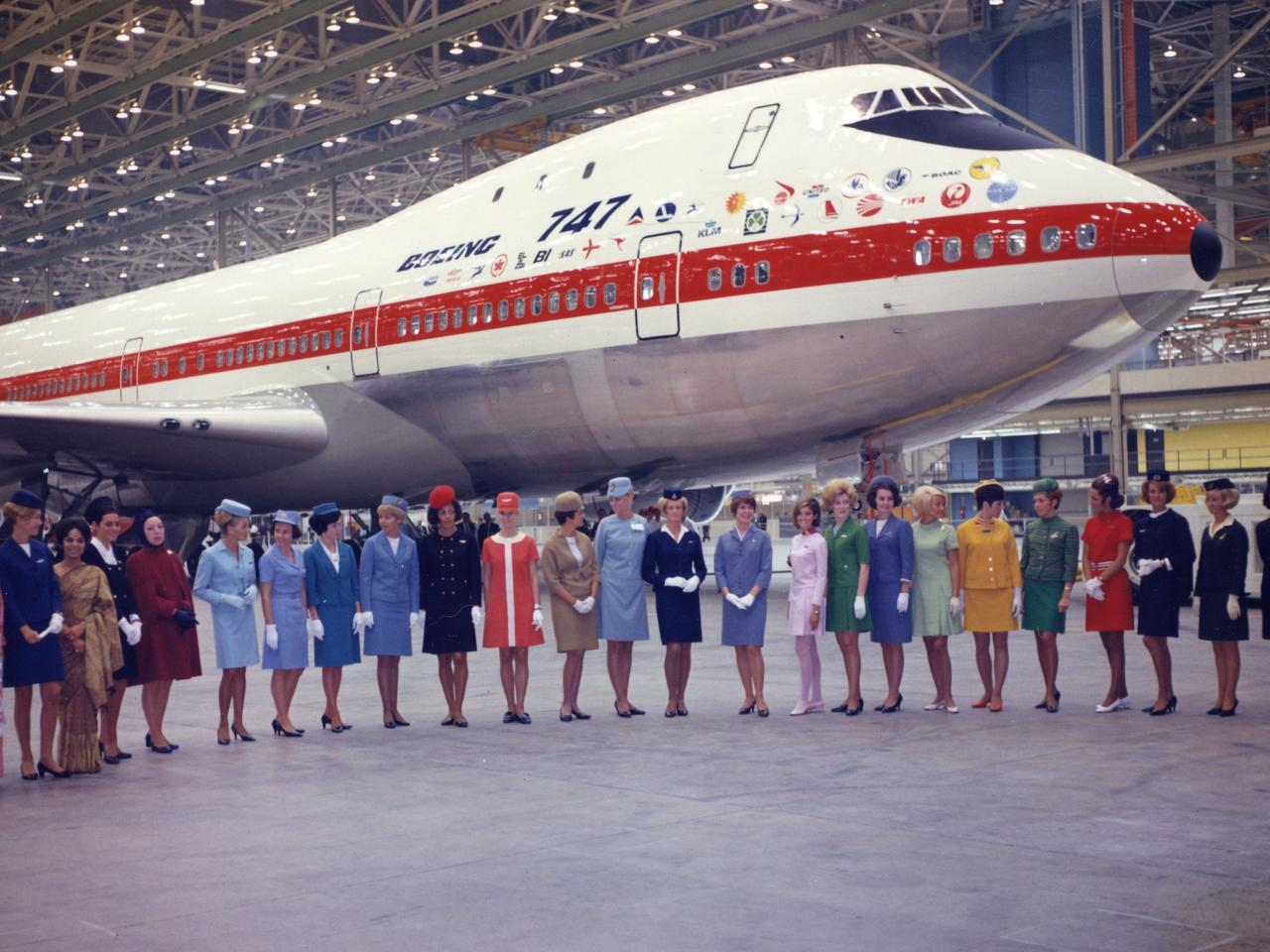 Qantas has announced a program of events to farewell its last remaining Boeing 747. Picture: Qantas