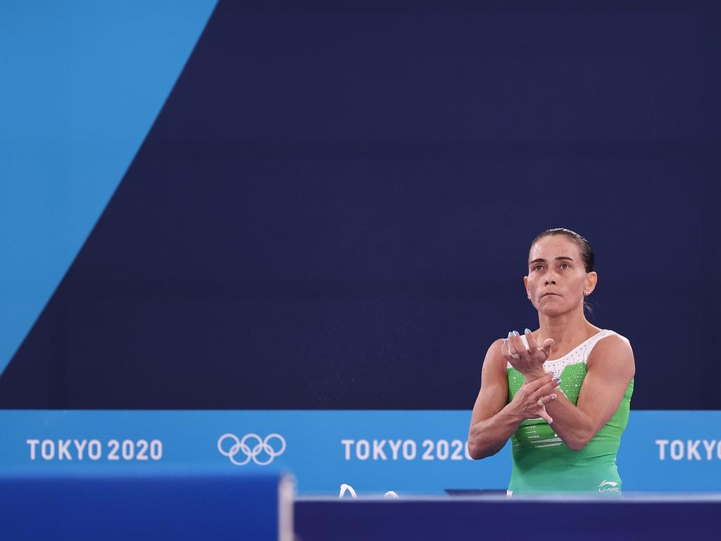 Chusovitina was competing in her eighth games. Picture: Jamie Squire/Getty Images