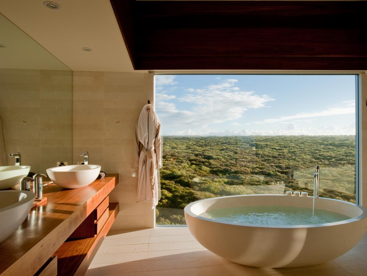 Supplied Travel SUNDAY ESCAPE. EXCLUSIVE HOTEL SUITES. Osprey Pavilion, Southern  Ocean Lodge.