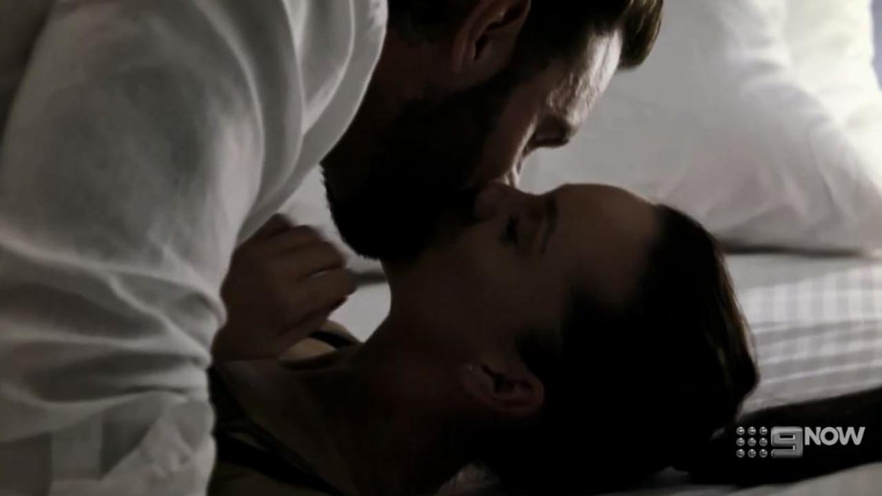 Sam and Ines' raunchy scene.