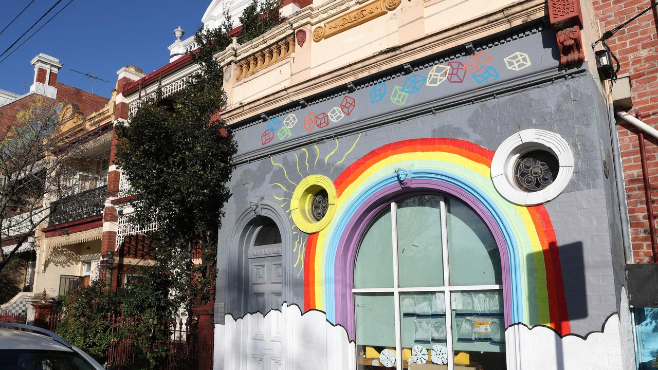 Fitzroy Community School was closed on Monday. Picture: NCA NewsWire / David Crosling