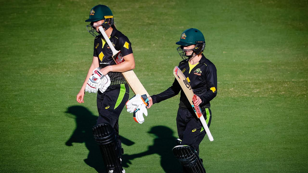 Australia wrapped up the series in Brisbane.