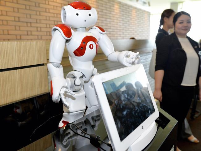 Robot concierges will speak a multitude of languages.