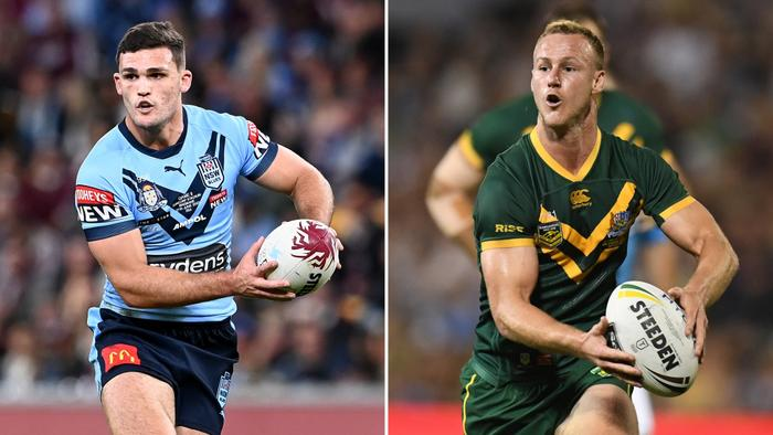 Nathan Cleary and Daly Cherry-Evans.