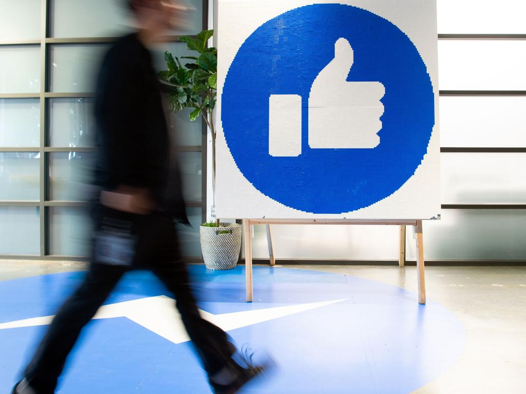 Facebook updated its COVID-19 guidelines in December are facing criticism for being too slow to crack down on disinformation. Picture: Josh Edelson/AFP
