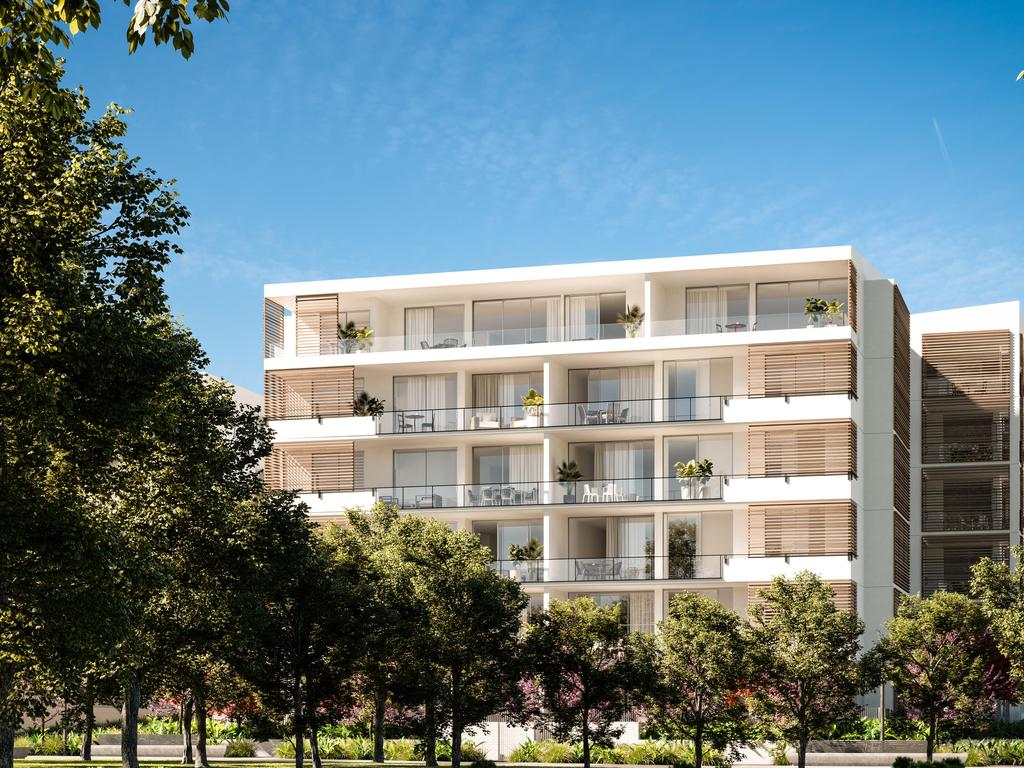 Yeerongpilly Green at Yeerongpilly is selling. Construction will commence in October. Picture: Supplied