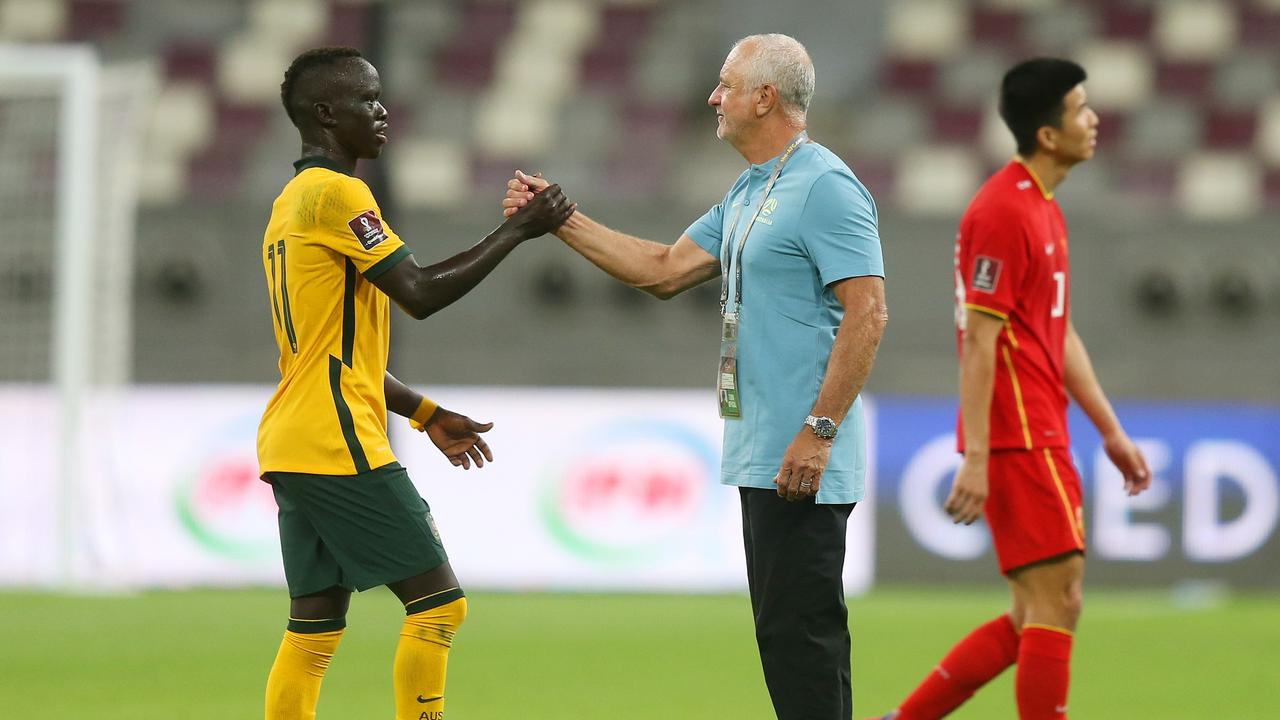 Graham Arnold continues to impress in his second stint as Socceroos manager. Photo: Getty Images
