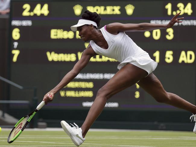 Venus Williams is through to the second round.