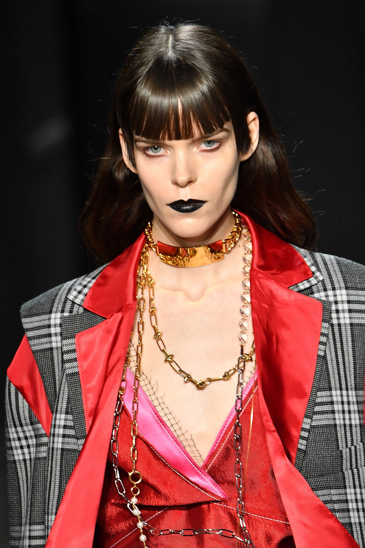 Back to black: the only lip colour you need this season